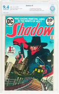 Bronze Age (1970-1979):Miscellaneous, The Shadow #1 (DC, 1973) CBCS NM 9.4 Off-white to white pages....