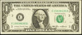 Error Notes:Obstruction Errors, Fr. 1913-C $1 1985 Federal Reserve Note. Very Fine-Extremely Fine.....