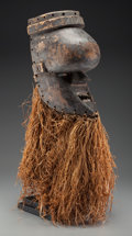 Tribal Art, SALAMPASU, Democratic Republic of the Congo. Mask... (Total: 2 )