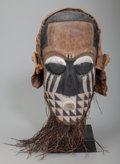 Tribal Art, KUBA, Democratic Republic of Congo. Mask... (Total: 2 )