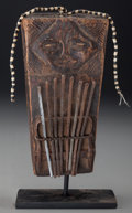 Tribal Art, Possibly LUBA, Democratic Republic of the Congo. Finger Harp...(Total: 2 Items)