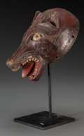 Tribal Art, CHEWA, Zambia . Zoomorphic Mask ... (Total: 2 )