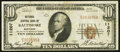 National Bank Notes:Maryland, Baltimore, MD - $10 1929 Ty. 1 National Central Bank Ch. # 11207....