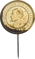 Political:Tokens & Medals, George McClellan: Very Rare 1864 Campaign Shell Badge....