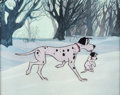 Animation Art:Production Cel, 101 Dalmatians Pongo and Puppy Production Cel Setup (Walt Disney, 1961)....