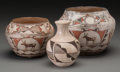 American Indian Art:Pottery, Three Southwest Pottery Jars... (Total: 3 Items)