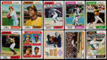 Baseball Cards:Sets, 1974 Topps Baseball Complete Set, Traded Set, Team Checklists and Washington Variations (660+44+24+7). ...