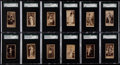 Non-Sport Cards:Lots, C. 1890 N145 Duke & Sons Actresses Collection (100+). ...