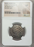 Ancients:Celtic, Ancients: DANUBE REGION. West Noricum. Ca. 2nd-1st centuries BC. ARtetradrachm. NGC VF....