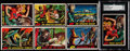 Non-Sport Cards:Lots, 1962 Topps Mars Attacks Collection (38) With Duplicate Key Cards. ...
