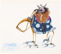 Animation Art:Concept Art, Tim Burton The Black Cauldron Mounted Guard AnimationDrawing (Walt Disney, 1985)....