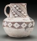 American Indian Art:Pottery, An Anasazi Black-On-White Pitcher...