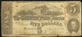 Confederate Notes:1863 Issues, T60 $5 1863 PF-1 Cr. 448.. ...