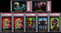 Non-Sport Cards:Lots, 1964 Topps Outer Limits PSA Graded Collection (7) With Short Print....