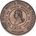 Political:Tokens & Medals, James Buchanan: Large and Desirable Rebus Medal....