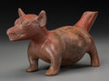 Pre-Columbian:Ceramics, A Fat Colima Dog. c. 200 BC - 200 AD...
