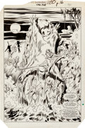 Original Comic Art:Splash Pages, John Buscema and Bob Camp Conan the Barbarian #180 SplashPage 12 Original Art (Marvel, 1986)....