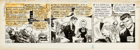 Frank Robbins Johnny Hazard Daily Comic Strip Original Art dated 9-1-75 (King Features Syndicate, 1975)