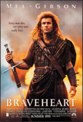 "Movie Posters:Action, Braveheart (Paramount, 1995). One Sheet (27"" X 40"") DS Advance.Action.. ..."