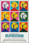 """Movie Posters:Documentary, Superstar: The Life and Times of Andy Warhol (Aries Films, 1991). One Sheet (27"""" X 41""""). Documentary.. ..."""