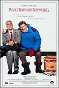 "Movie Posters:Comedy, Planes, Trains and Automobiles (Paramount, 1987). One Sheet (27"" X 41""). Comedy.. ..."