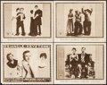 """Movie Posters:Comedy, Bucking Society (Triangle, 1916). Lobby Cards (4) (11"""" X 14""""). Comedy.. ... (Total: 4 Items)"""