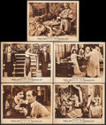 "Movie Posters:Drama, The Clemenceau Case (Fox, 1915). Lobby Cards (5) (11"" X 14"").Drama.. ... (Total: 5 Items)"