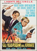 """Movie Posters:Action, The Man from U.N.C.L.E.: The Karate Killers & Others Lot (MGM,1968). Italian 2-Fogli (39.25"""" X 55.25""""), Photos (22) (8"""" X 1...(Total: 26 Items)"""