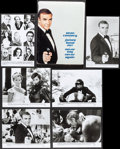 """Movie Posters:James Bond, Never Say Never Again (Warner Brothers, 1983). Presskit (9"""" X 12"""")with 17 Photos. James Bond.. ... (Total: 17 Items)"""