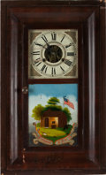 Political:3D & Other Display (pre-1896), William Henry Harrison: Wonderful North Bend Mantel Clock....