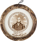 Political:3D & Other Display (pre-1896), William Henry Harrison: Hero of the Thames Wall Plaque....