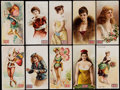 Non-Sport Cards:Lots, 1893 N256, N257 and N259 Lorillard's 5-Cent Ante Card Collection(20). ...