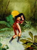 Original Comic Art:Covers, Enric (Enrique Torres-Prat) Vampirella #42 Cover RecreationOriginal Art (undated)....