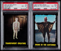 "Non-Sport Cards:Lots, 1964 Topps ""Outer Limits"" PSA NM-MT 8 Graded Pair (2). ..."