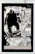Original Comic Art:Splash Pages, Keith Pollard and Art Nichols Daredevil #341 Splash PageOriginal Art (Marvel, 1995)....