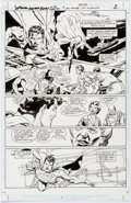 Original Comic Art:Panel Pages, Gil Kane and Kevin Nowlan Superman: Blood of My Ancestors Story Page 2 (DC, 2003)....