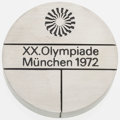 Olympic Collectibles:Autographs, 1972 Munich Summer Olympic Participation Medal. ...