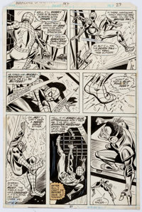Ross Andru and Mike Esposito Amazing Spider-Man #182 Page 27 Original Art (Marvel, 1978)