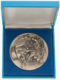 Olympic Collectibles:Autographs, 1980 Lake Placid Winter Olympic Games Participation Medal. ...