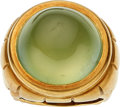 Estate Jewelry:Rings, Chalcedony, Gold Ring, Elizabeth Rand. ...