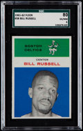 Basketball Cards:Singles (Pre-1970), 1961 Fleer Bill Russell #38 SGC 80 EX/NM 6....