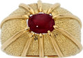 Estate Jewelry:Rings, Ruby, Gold Ring, Schlumberger for Tiffany & Co.. ...