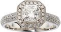 Estate Jewelry:Rings, Diamond, Platinum Ring, Hearts on Fire. ...