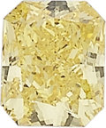 Estate Jewelry:Unmounted Diamonds, Unmounted Fancy Vivid Yellow Diamond. ...