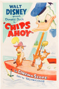Animation Art:Poster, Chips Ahoy Donald Duck Theatrical Poster (Walt Disney/RKO,1956)....