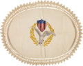 Political:Presidential Relics, Theodore Roosevelt: White House Table Covering....