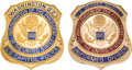 Political:Inaugural (1789-present), Ronald Reagan: Inauguration Security and Law Enforcement Badges.... (Total: 2 Items)