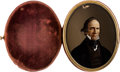 Political:Small Miscellaneous (pre-1896), Henry Clay: Colored Portrait on Glass Daguerreotype Case....
