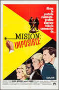"""Movie Posters:Action, Mission Impossible Versus the Mob (Paramount, 1968). SpanishLanguage One Sheet (27"""" X 41""""). Action.. ..."""