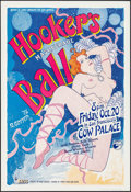 "Movie Posters:Rock and Roll, Hooker's Ball by Robert Gotsch (Margot St. James, 1978). EventPoster (20"" X 29""). Rock and Roll.. ..."